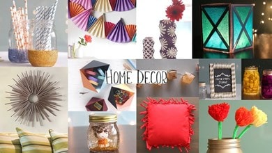 Top 10 Home Décor Ideas for Your Home and Apartments